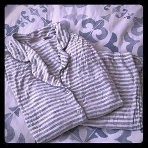 Nordstrom striped pajama set